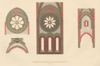 Details of the Church of St. Andrea. Specimens of Ornamental Art. Lewis Gruner
