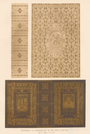 Specimens of Bookbinding in the XVIth Century. Specimens of Ornamental Art. Lewis Gruner