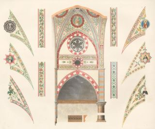 Details of the Paintings in the Church of St. Anastasia. Specimens of Ornamental Art. Lewis Gruner