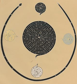 Coiled Mt. Corral Branch of Male Shooting Chant. Sandpaintings of the Navajo Shooting Chant....