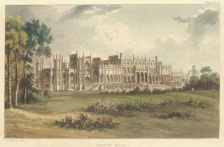 Eaton Hall. Ackermann's Repository of Arts &c. Rudolph Ackermann