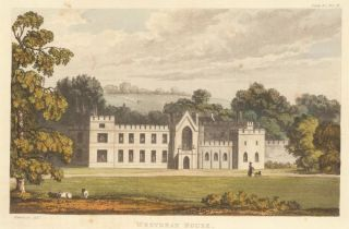 Westdean House. Ackermann's Repository of Arts &c. Rudolph Ackermann
