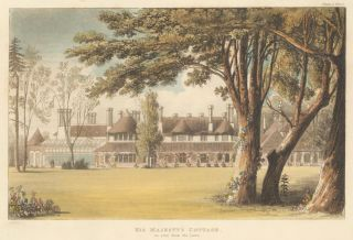 His Majesty's Cottage. Ackermann's Repository of Arts &c. Rudolph Ackermann