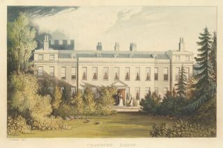 Cranburn Lodge. Ackermann's Repository of Arts &c. Rudolph Ackermann