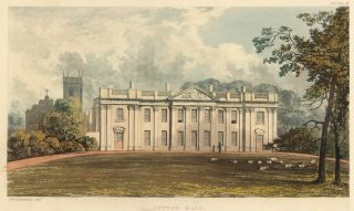 Sutton Hall. Ackermann's Repository of Arts &c. Rudolph Ackermann