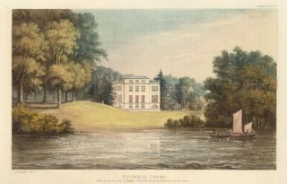 Nutwell Court. Ackermann's Repository of Arts &c. Rudolph Ackermann