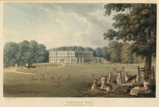 Trentham Hall. Ackermann's Repository of Arts &c. Rudolph Ackermann