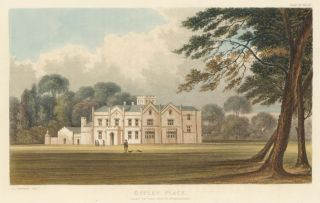 Offley Place. Ackermann's Repository of Arts &c. Rudolph Ackermann