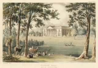 Tatton Hall. Ackermann's Repository of Arts &c. Rudolph Ackermann