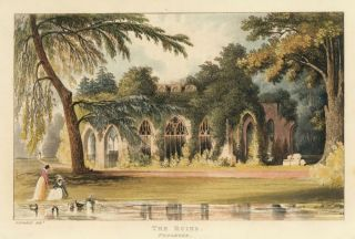 The Ruins, Frogmore. Ackermann's Repository of Arts &c. Rudolph Ackermann