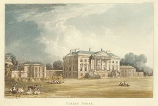 Tabley House. Ackermann's Repository of Arts &c. Rudolph Ackermann