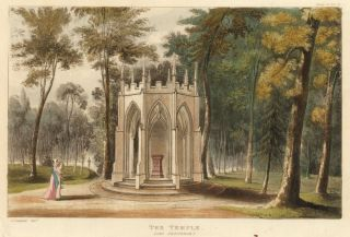 The Temple, Lord Grosvenor's. Ackermann's Repository of Arts &c. Rudolph Ackermann