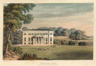 Stratton Park. Ackermann's Repository of Arts &c. Rudolph Ackermann