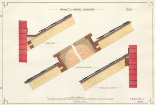 Fanlight and Chimney Finishings. F. Reginald Watson