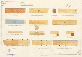 Details of Joints in Carpentry. F. Reginald Watson