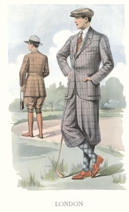 London [Men's Fashion Illustration]. Bulletin Officiel de la Mode, Supplement au No. 139, Ete...