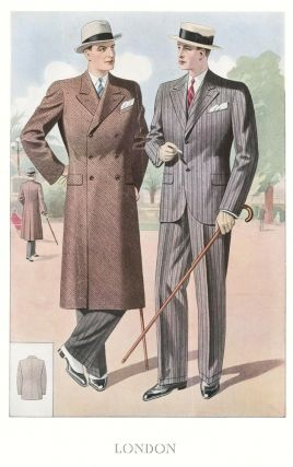 London [Men's Fashion Illustration]. Bulletin Officiel de la Mode, Supplement au No. 138, Ete...