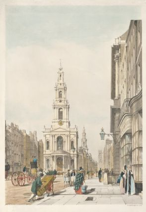 The Strand [St Mary le Strand, St Clement Danes, and St Dunstan Churches and the Somerset House]....