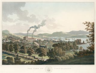 The Town of Port-Glasgow [Scotland]. I. Clark