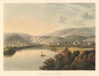 Andernach and Neuwied [Germany]. Views on the Rhine. Heinrich Joseph Schutz, after, Rudolph...
