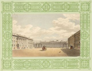 Waterloo Place. The Repository of Arts, Literature, Commerce, Manufactures, Fashions, and...