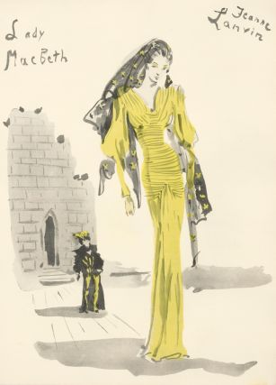 Jeanne Lanvin, Lady Macbeth. Christian Berard