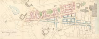 Plan of Westminster Improvements. Report on Metropolis Improvements. W. Bardwell, J. H. Taylor