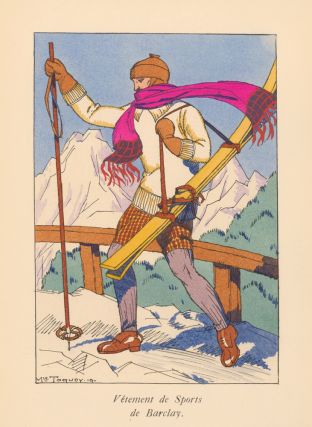 Vetement de Sports de Barclay [Ski Fashion]. La Guirlande, album mensuel d'art et de...