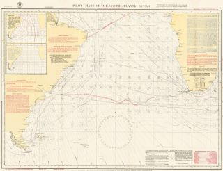 Pilot Chart of the South Atlantic Ocean. U S. Navy