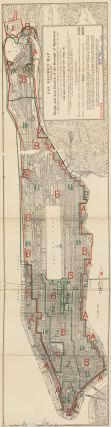 Use District Map, Showing the Height and Area Districts of the Borough of Manhattan. Land Book of...