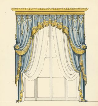 Drapery Design. French School