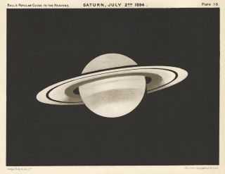 Saturn, July 2nd, 1894. A Popular Guide to the Heavens. Robert Stawell Ball