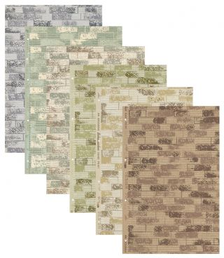 Design 704 Wallpaper Samples. Schumacher's Taliesin Line of Decorative Fabrics and Wallpapers...