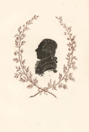 Count Oxenstierna, Senator of Sweden. Collection de Cent Silhouettes des Personnes Illustres et...