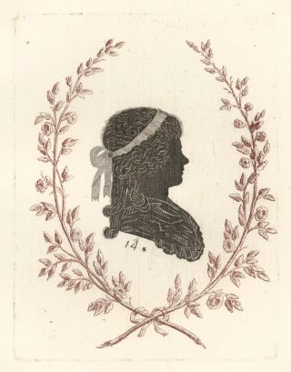 Duchess of Devonshire, London. Collection de Cent Silhouettes des Personnes Illustres et...
