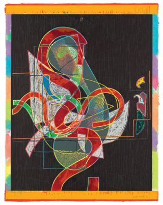 FRANK STELLA Prints: A Catalogue Raisonné. Richard Axsom, Leah Kolb, Madison. Madison Museum of...