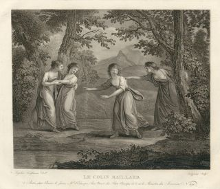 Le Colin Maillard. Angelica Kauffmann, after