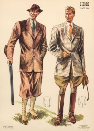 Hunting Outfits. L'Homme. J. Dufaut, Jean Darroux
