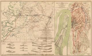 Vicksurg, Miss., January 20 - July 4, 1863. Atlas to Accompany the Official Records of the Union...