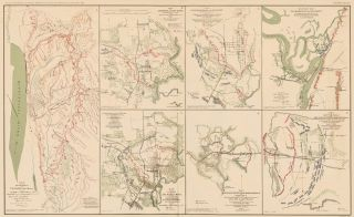 Vicksburg and Jackson Campaign. Atlas to Accompany the Official Records of the Union and Confederate Armies. The United States War Department.