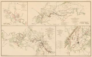 Jackson, Chancelorsville, and Gettysburg Campaign. Atlas to Accompany the Official Records of the...