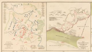 Columbus, Fort Pulaski, Shenandoah Valley, Fort Pickens, Bailey's Cross-Roads, Hunter's Chapel to Fairfax Court-House, and Bull Run Campaign. Atlas to Accompany the Official Records of the Union and Confederate Armies.