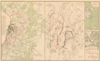 Petersburg, Gettysburg Campaign, Burnside's North Carolina Expedition, Newbern, and Atlanta Campaign. Atlas to Accompany the Official Records of the Union and Confederate Armies. The United States War Department.