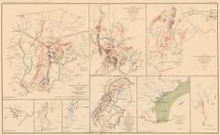 Gettysburg Campaign, Atlanta Campaign, and Rio Grande Expedition. Atlas to Accompany the Official...