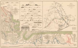 Morris Island and Mine Run Campaign. Atlas to Accompany the Official Records of the Union and...