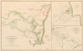 Yorktown, Shiloh or Pittsburg Landing, and Corinth. Atlas to Accompany the Official Records of...
