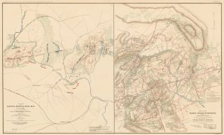 Bull Run Campaign. Atlas to Accompany the Official Records of the Union and Confederate Armies....