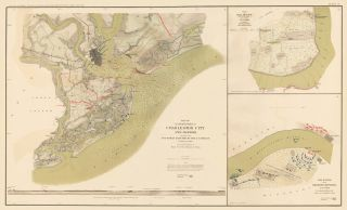 Defenses of Charleston City and Harbor and Belmont. Atlas to Accompany the Official Records of...