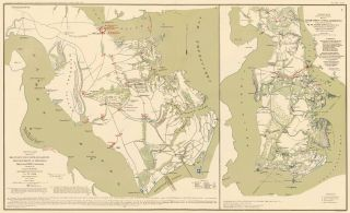 Peninsular Campaign. Atlas to Accompany the Official Records of the Union and Confederate Armies....