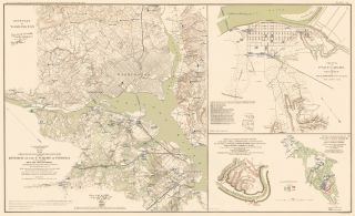 Washington D. C., Padacuh, Logan's Cross Roads and Mill Springs. Atlas to Accompany the Official...